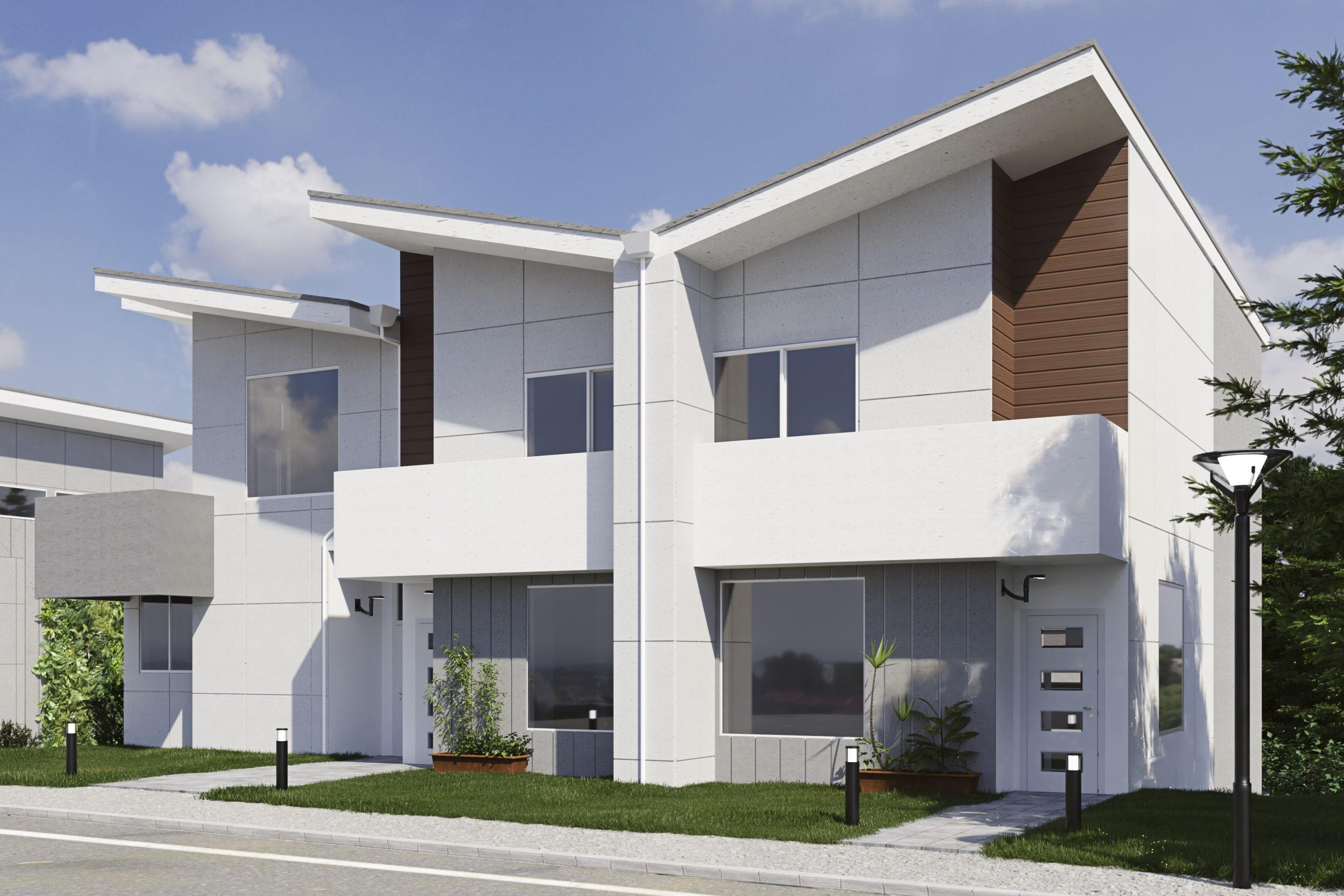 Sunsets_Edge_Townhomes_Building_1_View_1